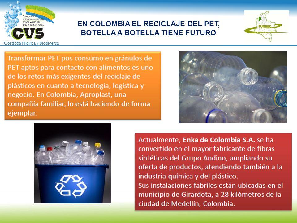 EN COLOMBIA EL RECICLAJE DEL PET, BOTELLA A BOTELLA TIENE FUTURO