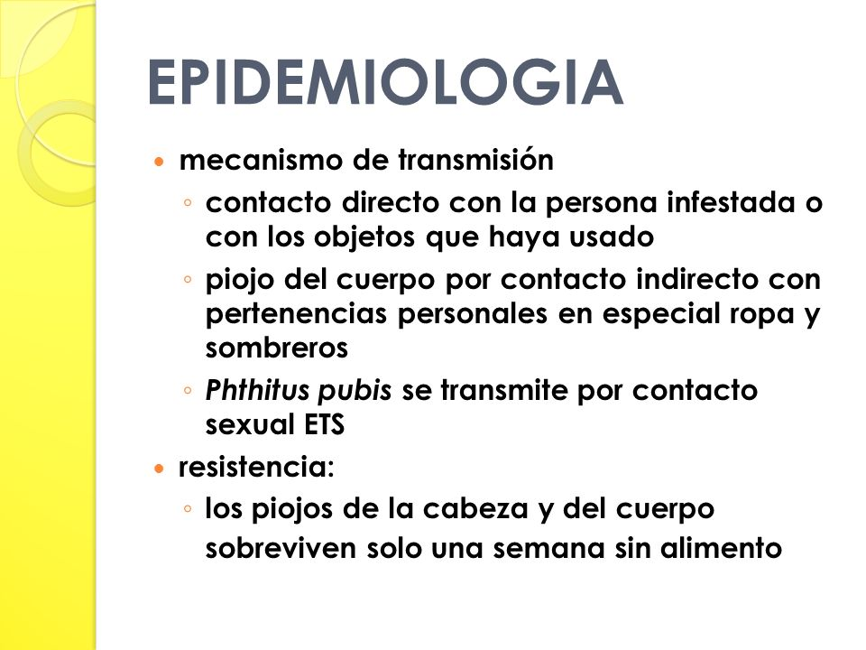 EPIDEMIOLOGIA mecanismo de transmisión