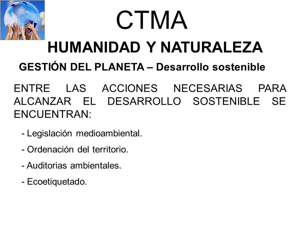 HUMANIDAD Y NATURALEZA