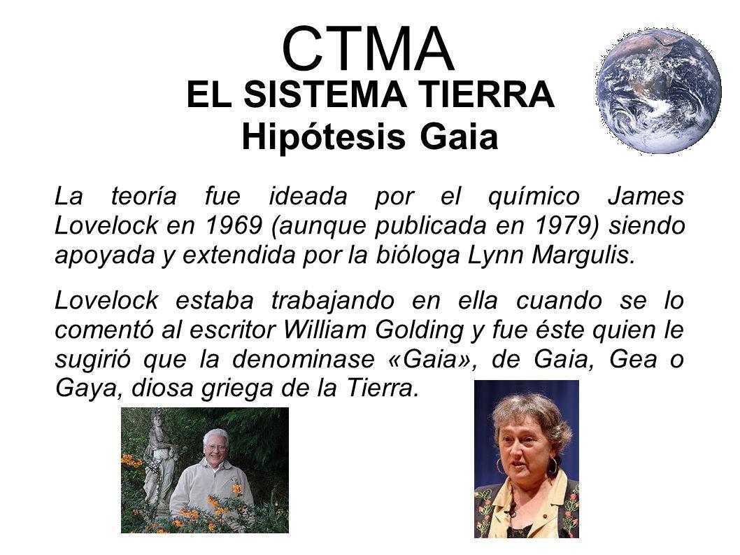 EL SISTEMA TIERRA Hipótesis Gaia