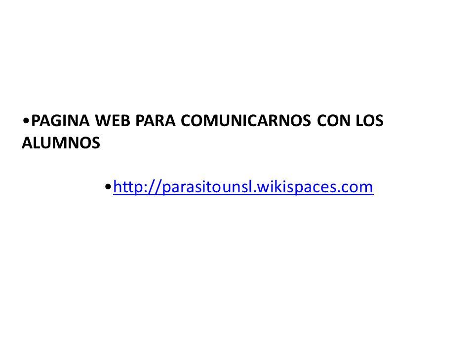 PAGINA WEB PARA COMUNICARNOS CON LOS ALUMNOS
