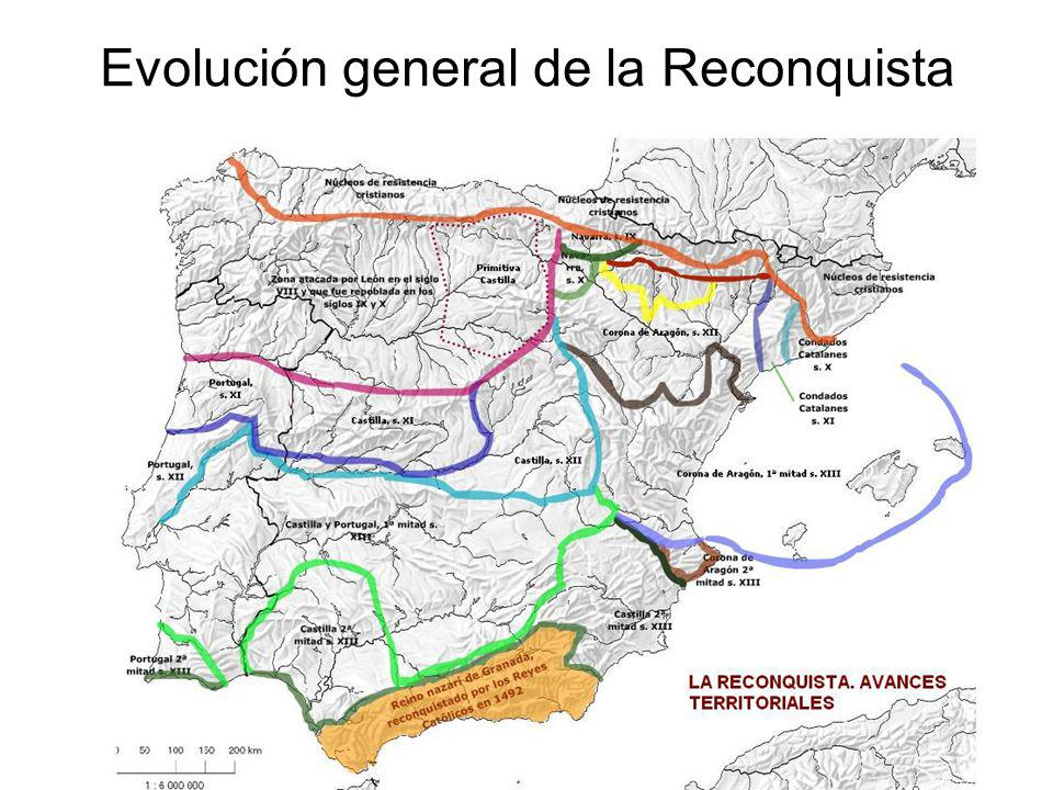 Evolución general de la Reconquista