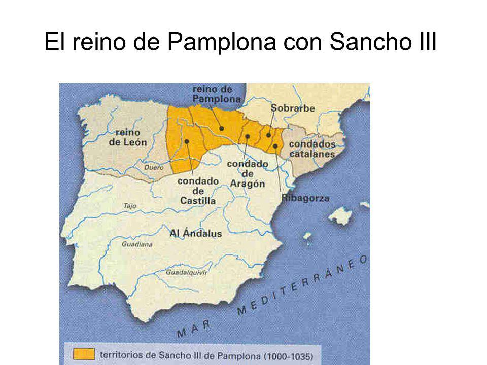 El reino de Pamplona con Sancho III