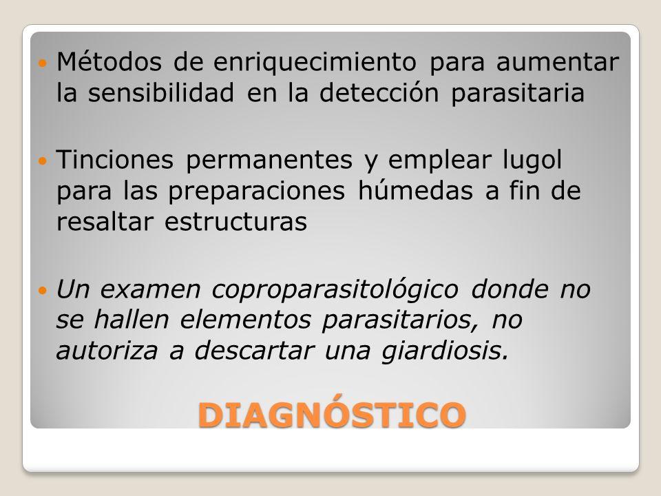 Métodos de enriquecimiento para aumentar la sensibilidad en la detección parasitaria