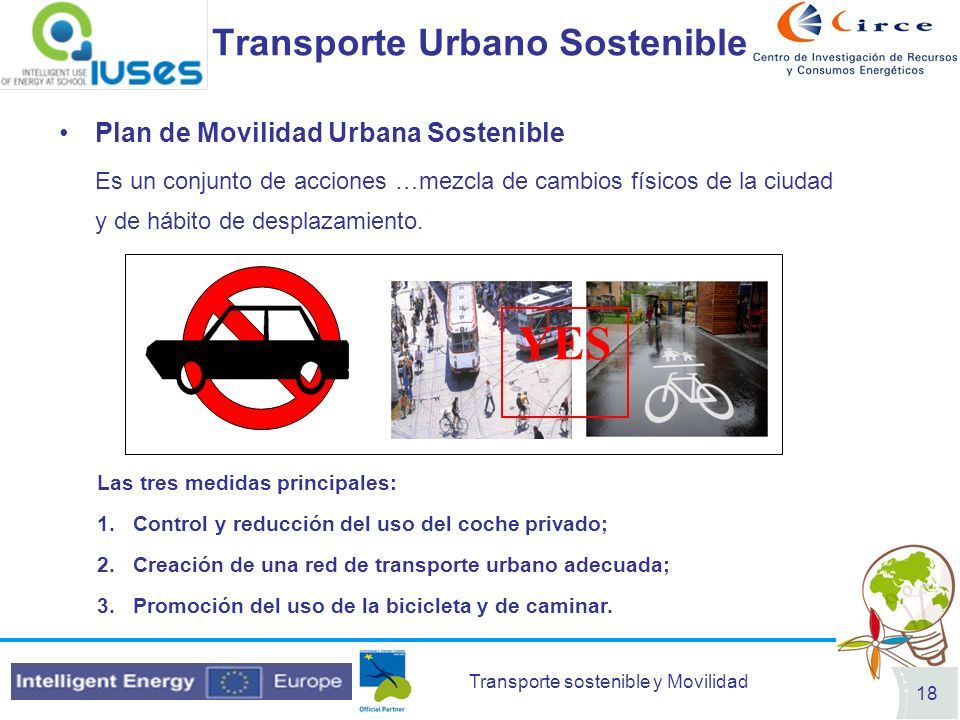 Transporte Urbano Sostenible