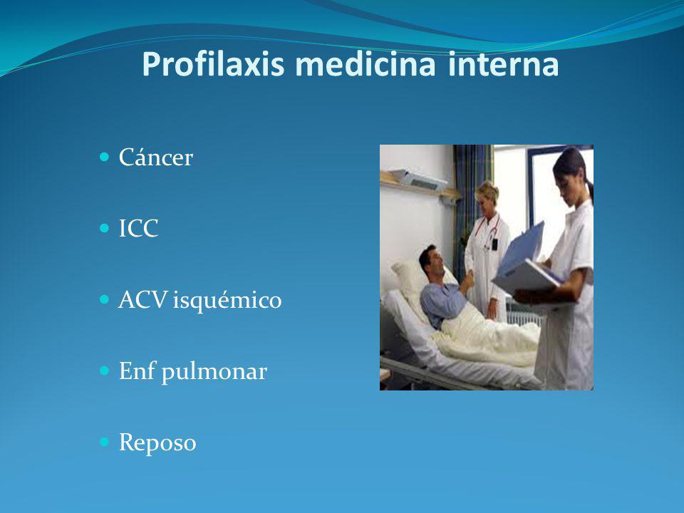 Profilaxis medicina interna
