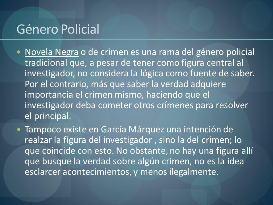 Género Policial