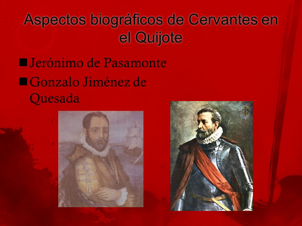 Aspectos biográficos de Cervantes en el Quijote