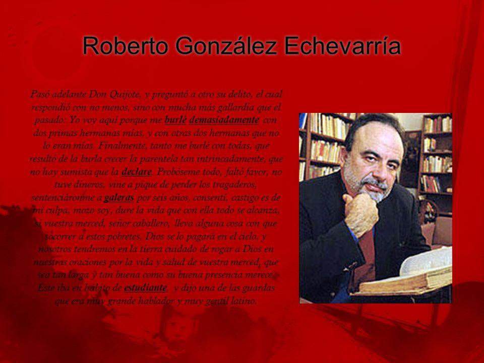 Roberto González Echevarría