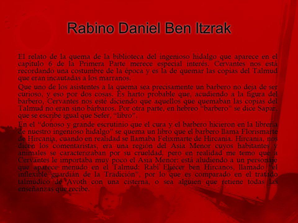 Rabino Daniel Ben Itzrak