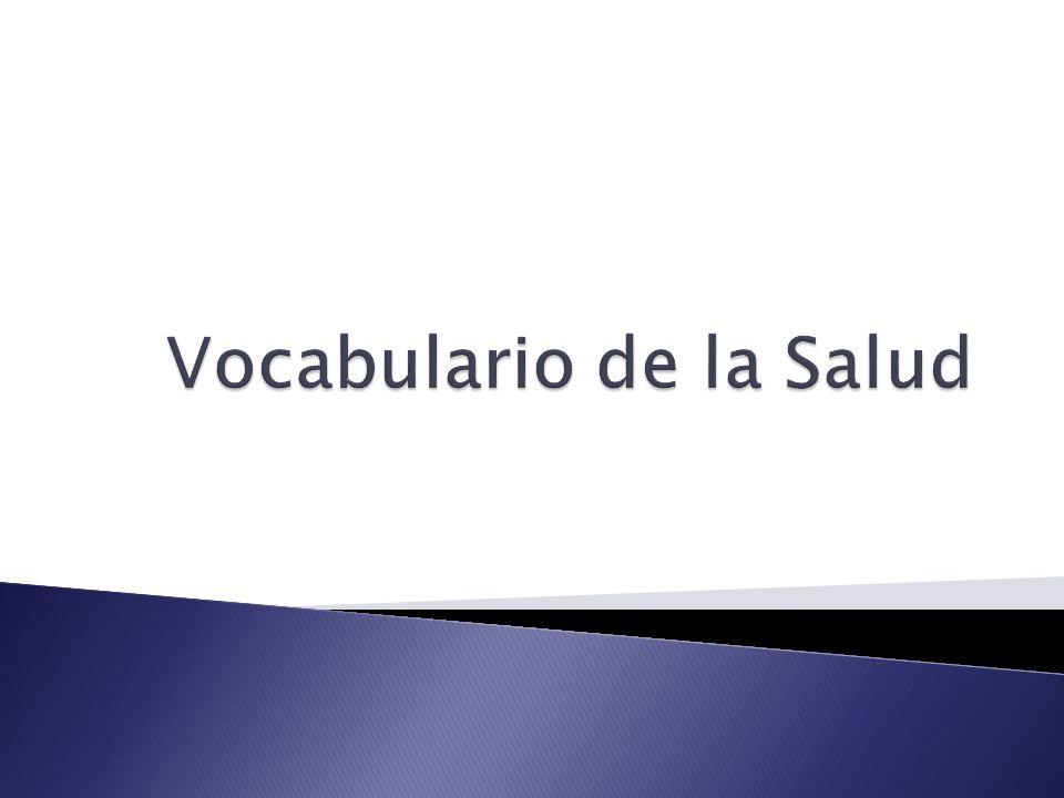 Vocabulario de la Salud