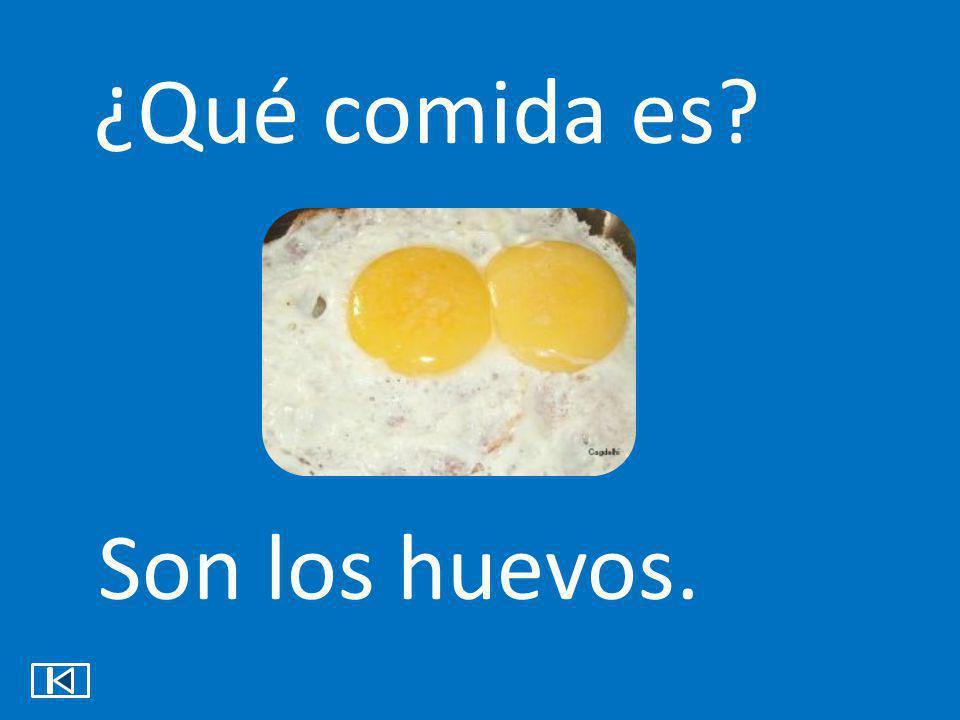 ¿Qué comida es Son los huevos.