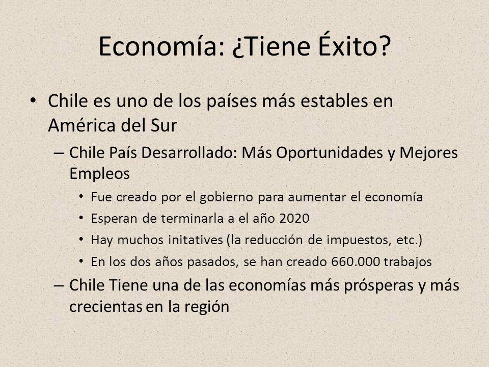 Economía: ¿Tiene Éxito