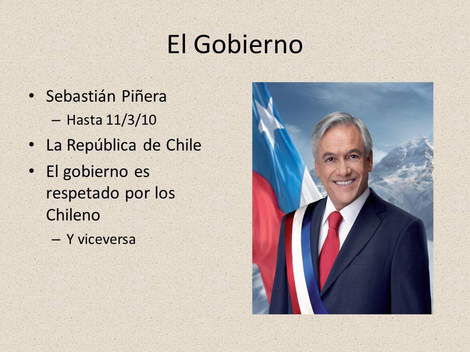 El Gobierno Sebastián Piñera La República de Chile