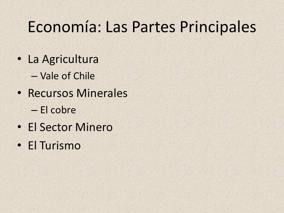 Economía: Las Partes Principales