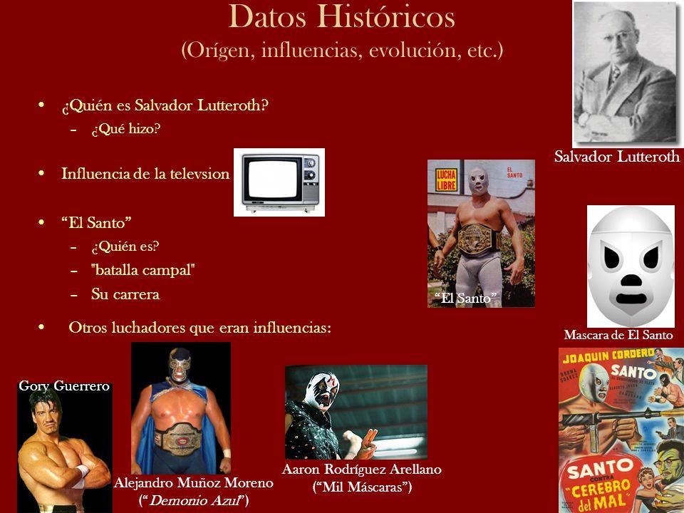 Datos Históricos (Orígen, influencias, evolución, etc.)
