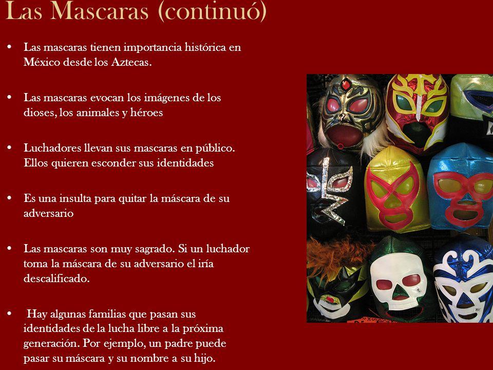 Las Mascaras (continuó)