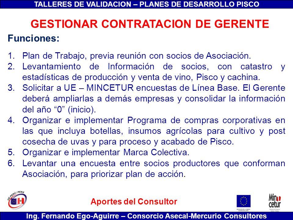GESTIONAR CONTRATACION DE GERENTE