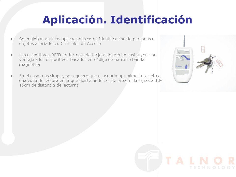 Aplicación. Identificación