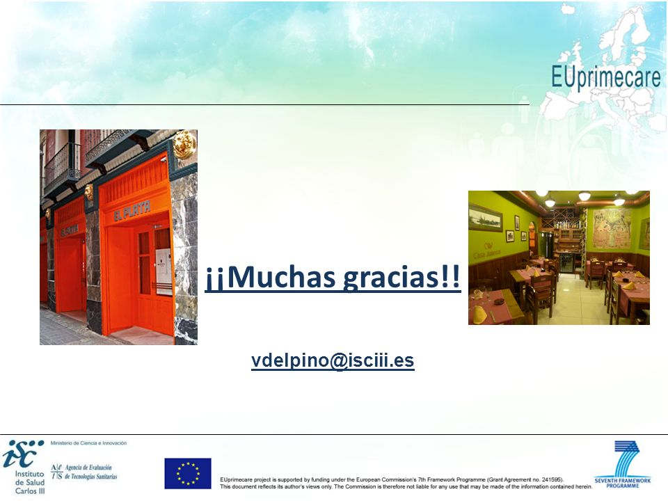 ¡¡Muchas gracias!! vdelpino@isciii.es