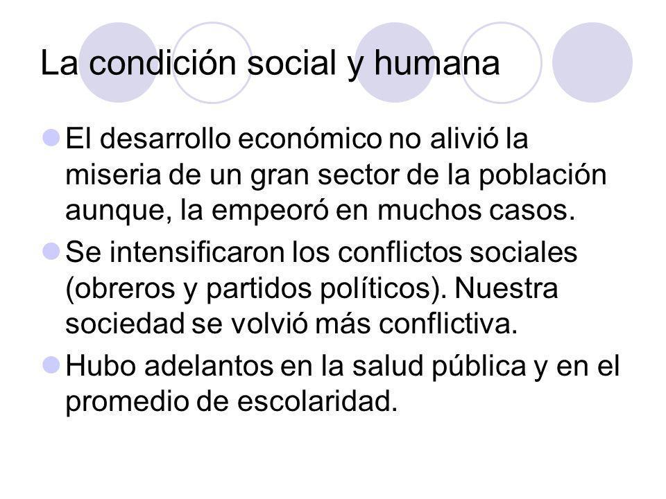 La condición social y humana