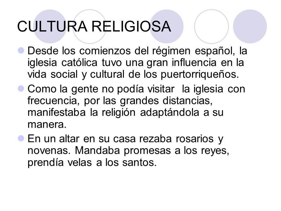 CULTURA RELIGIOSA