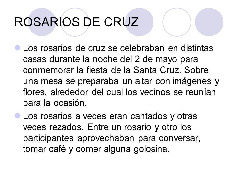 ROSARIOS DE CRUZ