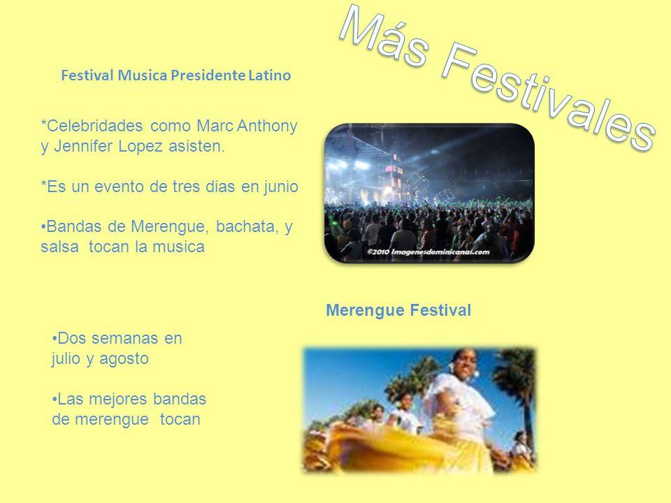Más Festivales Festival Musica Presidente Latino