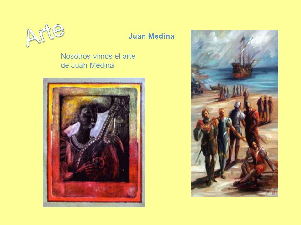 Arte Juan Medina Nosotros vimos el arte de Juan Medina