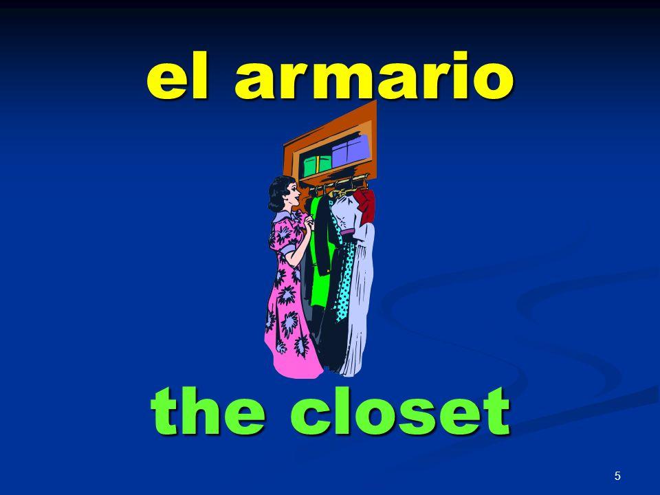 el armario the closet