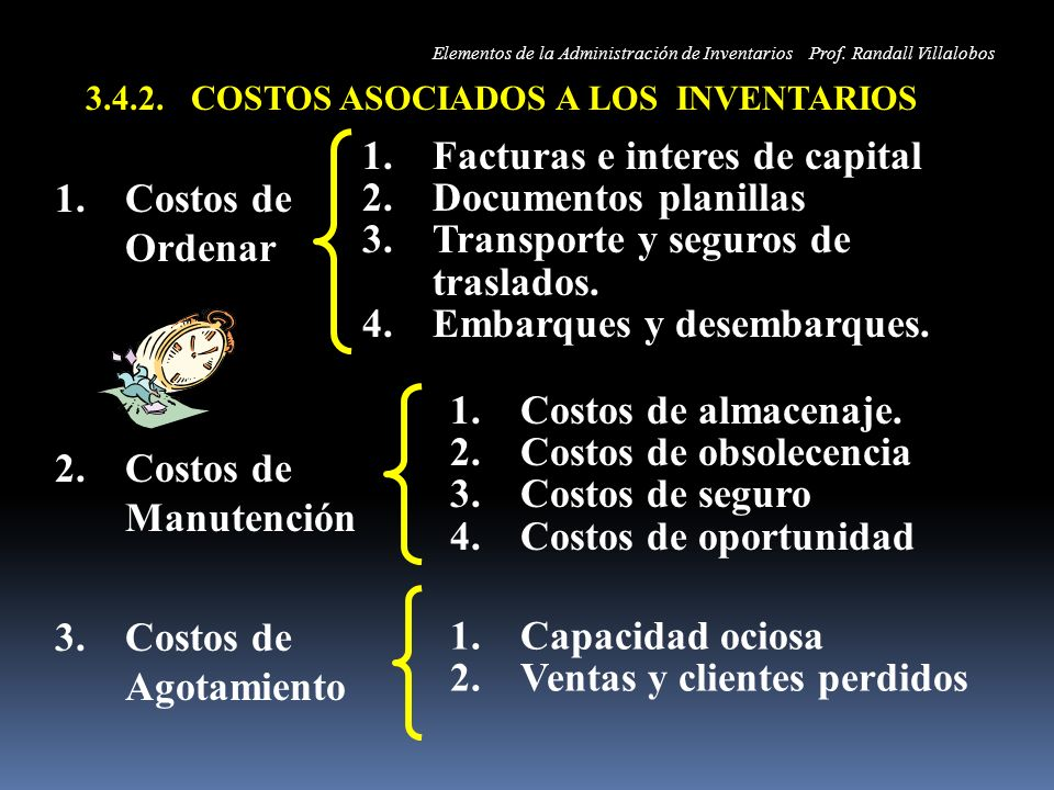 Facturas e interes de capital Documentos planillas