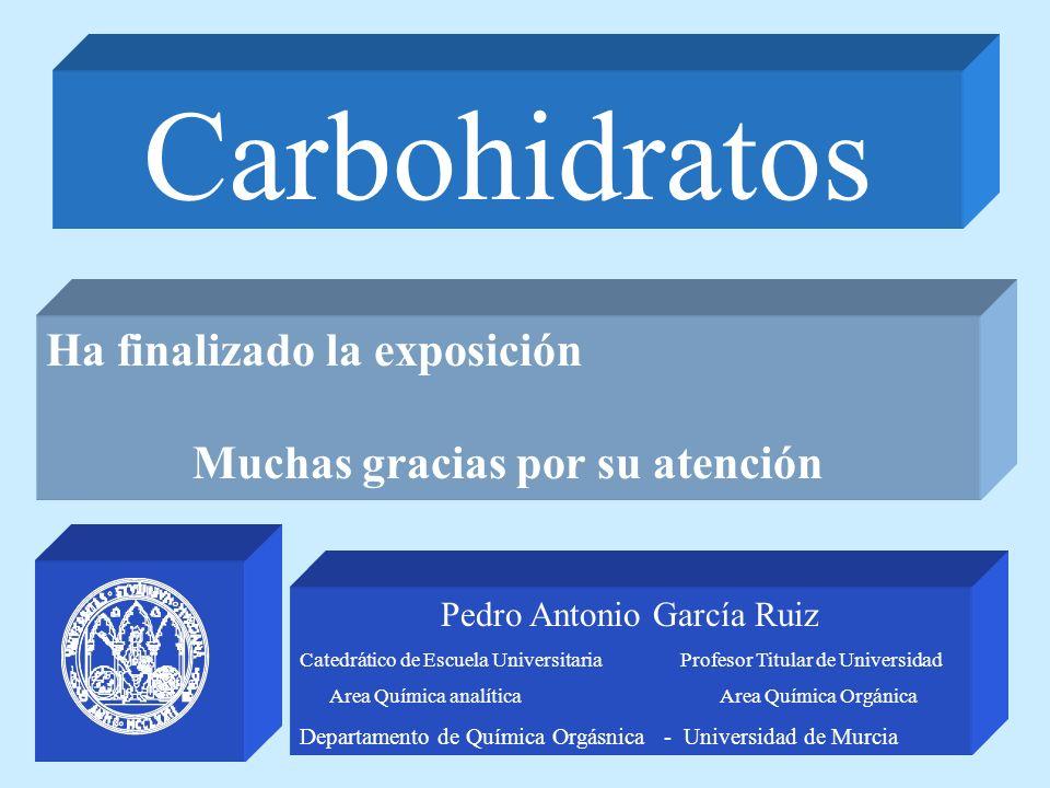 Carbohidratos Ha finalizado la exposición
