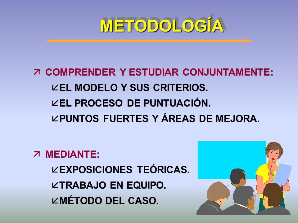 METODOLOGÍA COMPRENDER Y ESTUDIAR CONJUNTAMENTE: