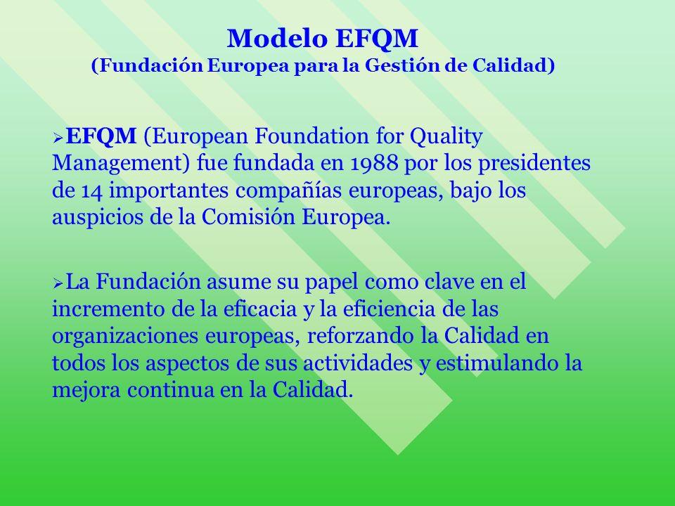 (Fundación Europea para la Gestión de Calidad)