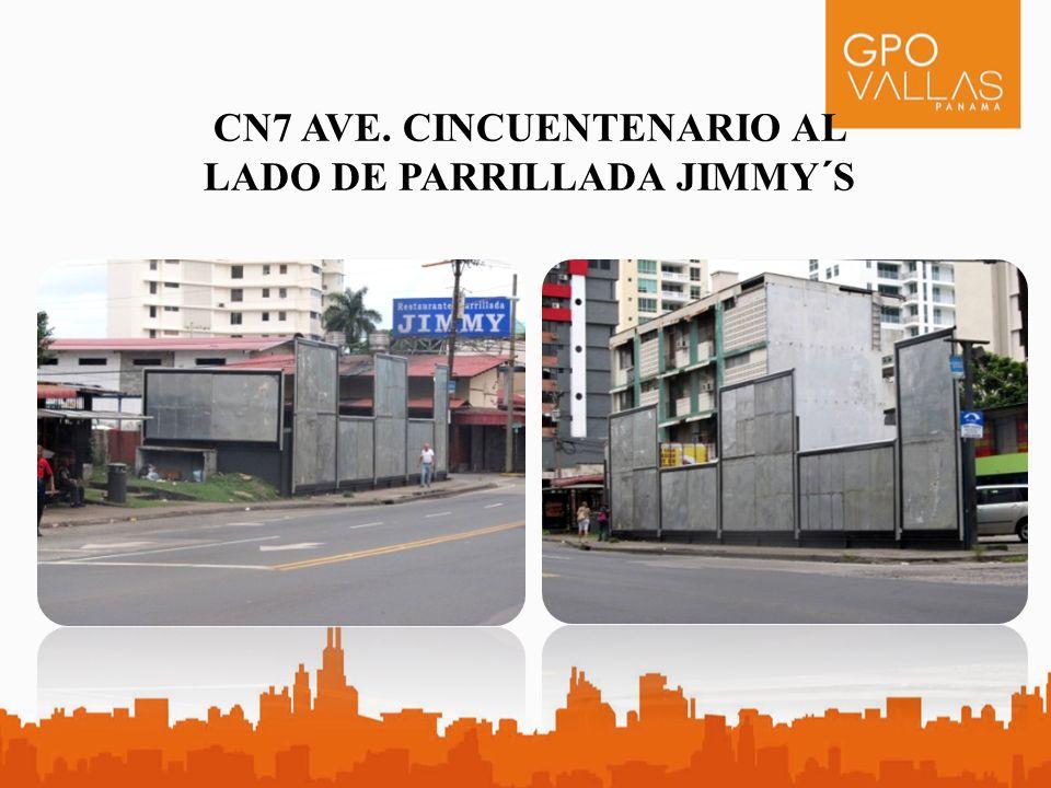 CN7 AVE. CINCUENTENARIO AL LADO DE PARRILLADA JIMMY´S