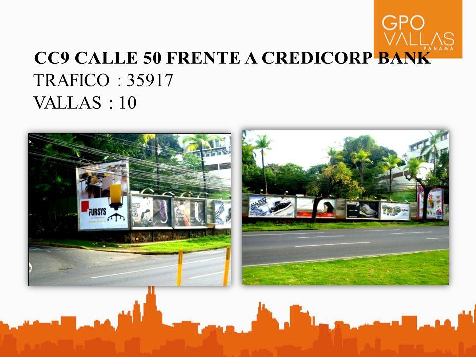 CC9 CALLE 50 FRENTE A CREDICORP BANK