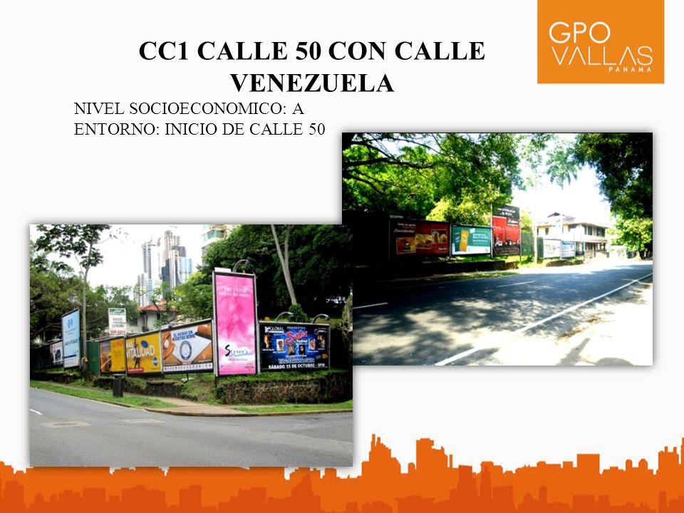 CC1 CALLE 50 CON CALLE VENEZUELA