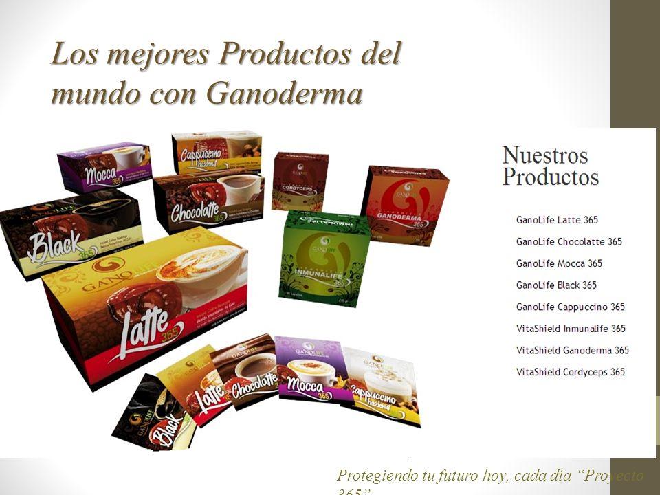 Los mejores Productos del mundo con Ganoderma
