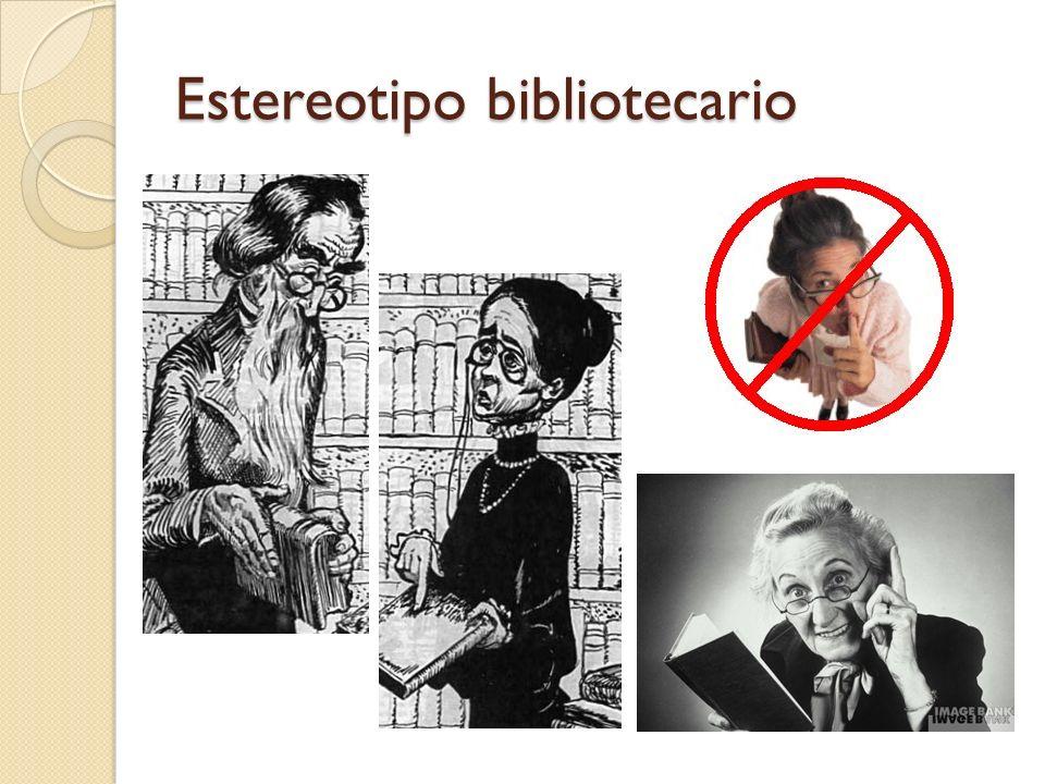 Estereotipo bibliotecario