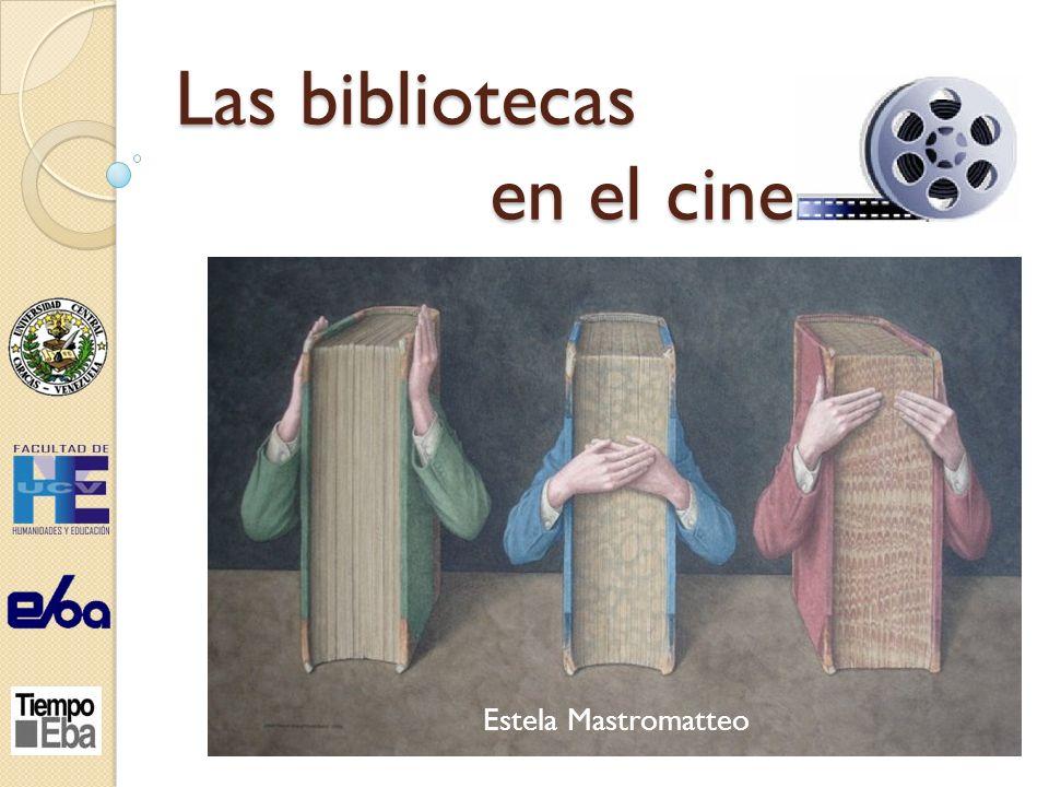 Las bibliotecas en el cine