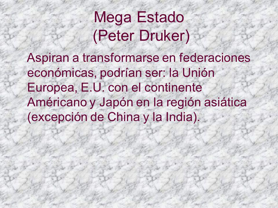 Mega Estado (Peter Druker)