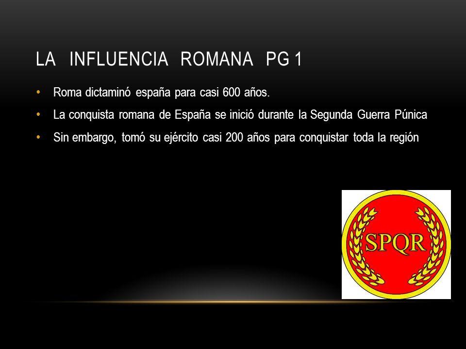 La influencia Romana pg 1