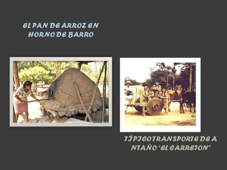 EL PAN DE ARROZ EN HORNO DE BARRO