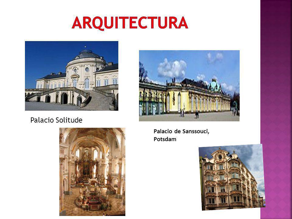 arquitectura Palacio Solitude Palacio de Sanssouci, Potsdam