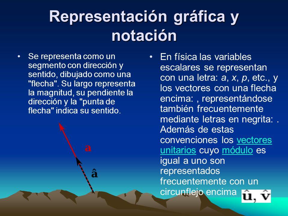 Representación gráfica y notación