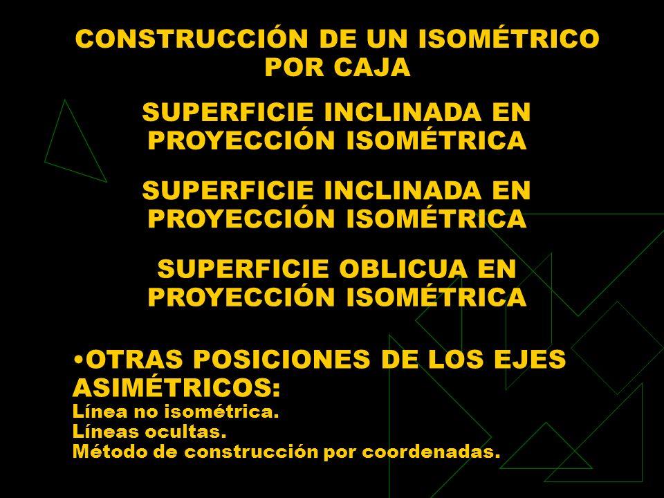 CONSTRUCCIÓN DE UN ISOMÉTRICO POR CAJA