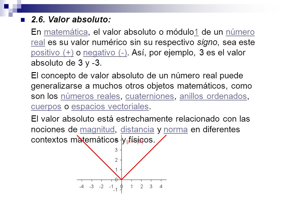 2.6. Valor absoluto: