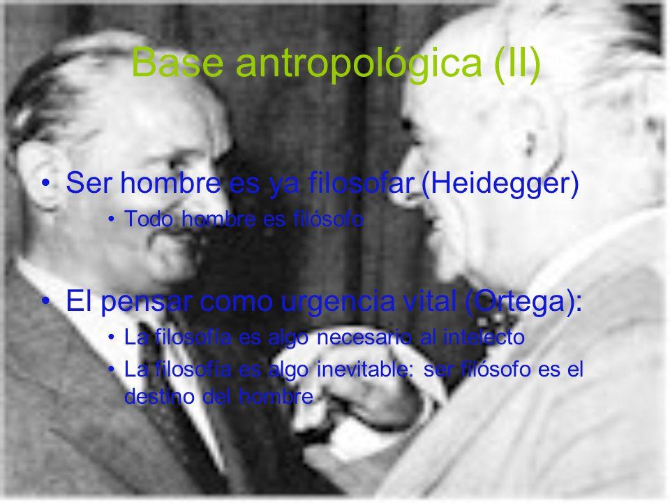 Base antropológica (II)