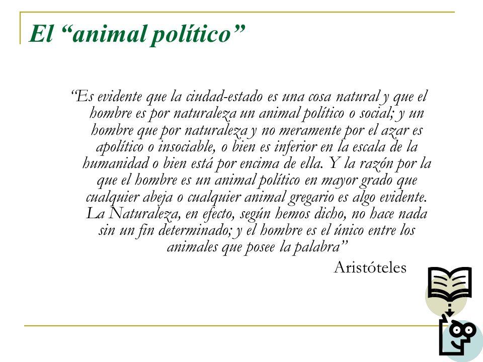 El animal político