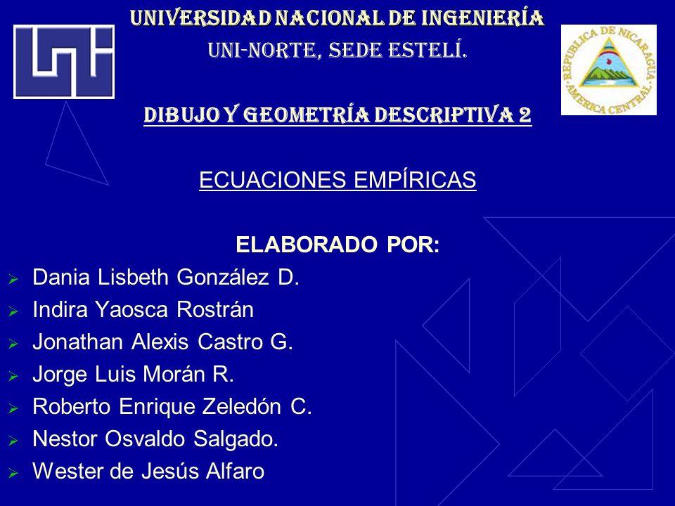 UNIVERSIDAD NACIONAL DE Ingeniería UNI-NORTE, SEDE ESTELÍ.
